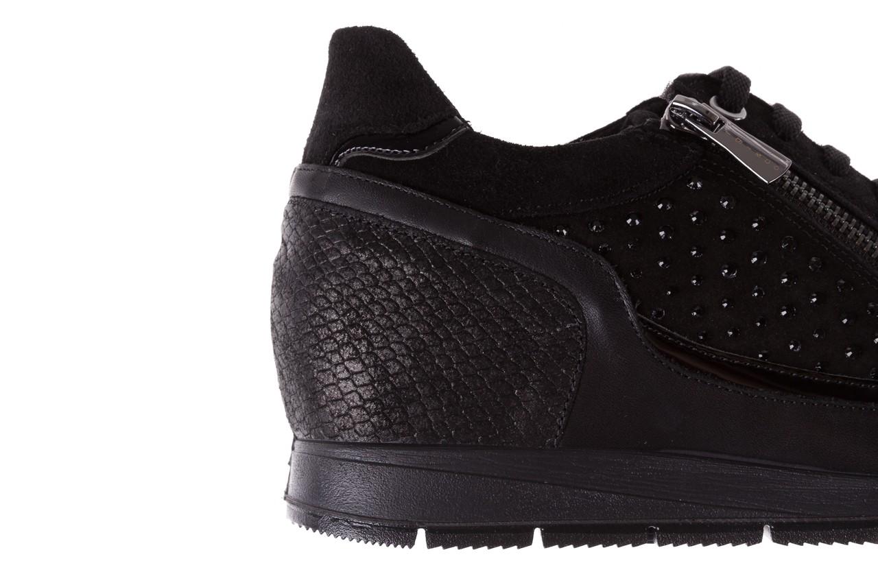 Sneakersy igi&co 8786400 nero, czarny, skóra naturalna 12