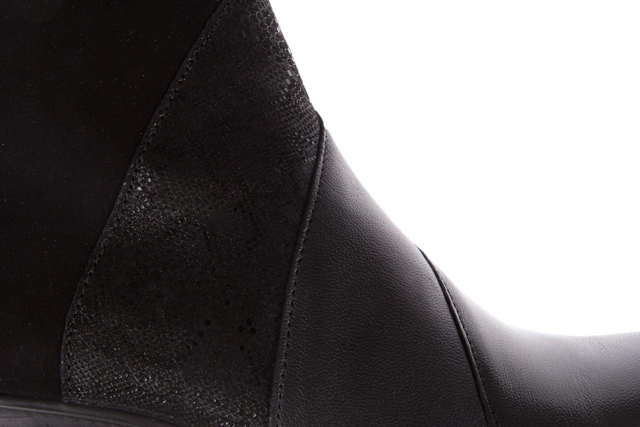 Botki imac 205240 black, czarny, skóra naturalna  - imac  - nasze marki 14