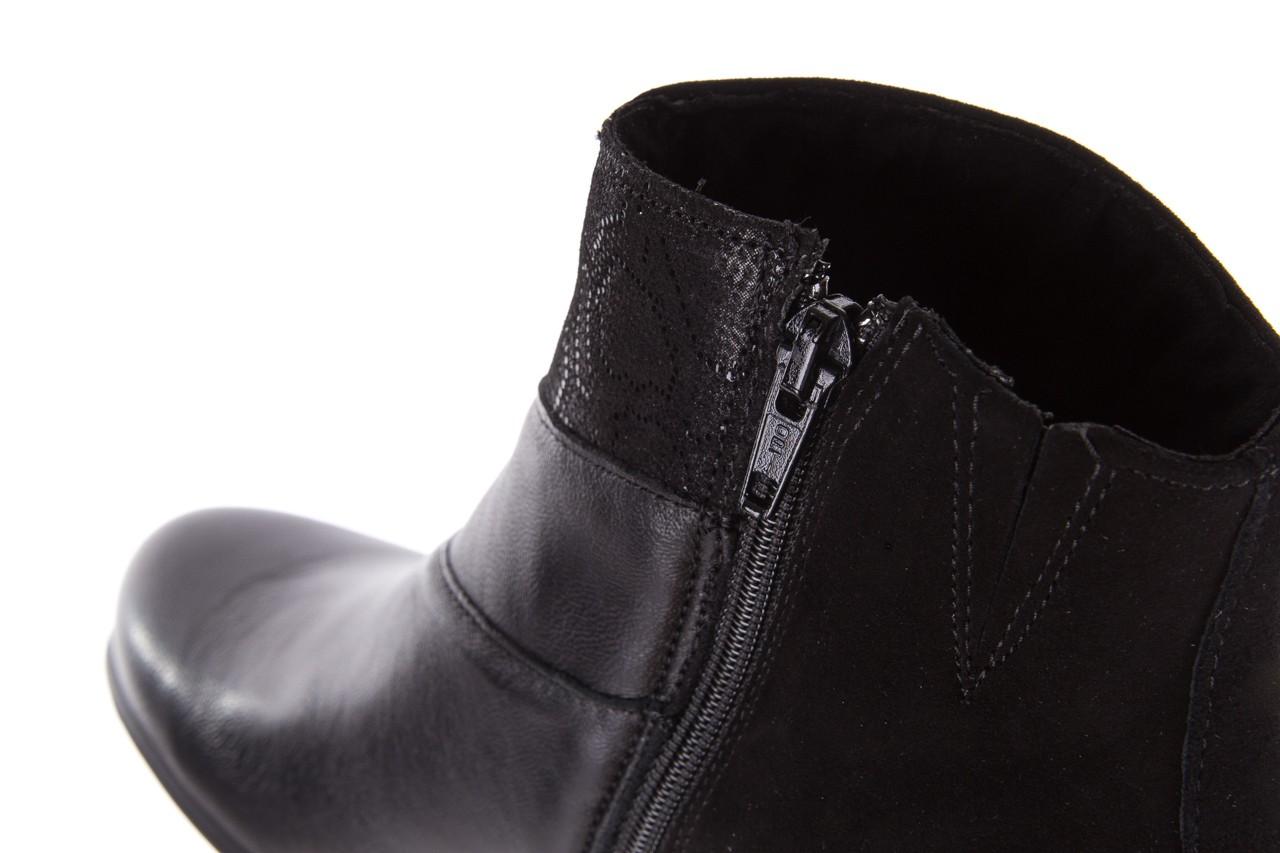 Botki imac 205240 black, czarny, skóra naturalna  - imac  - nasze marki 15