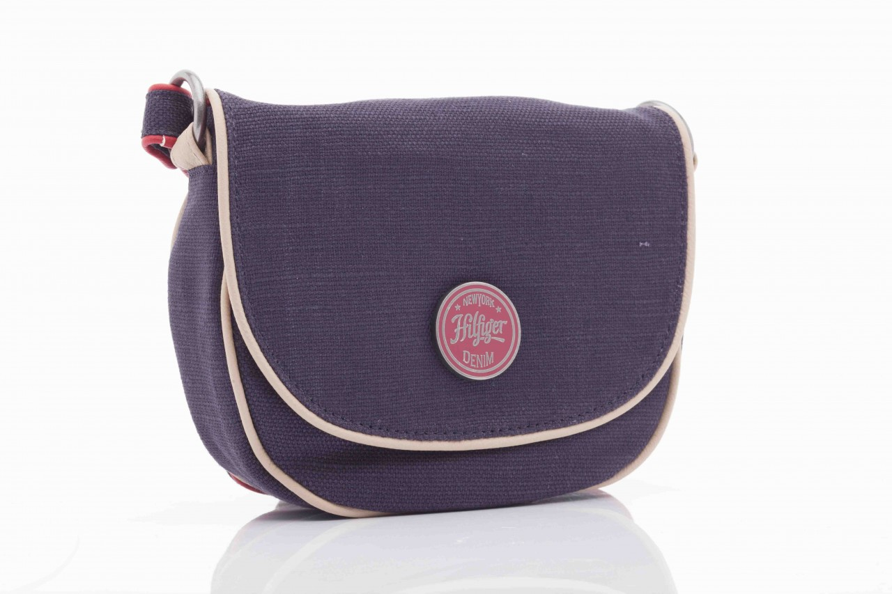 Torebka th lila linen mini clutch crossover 6