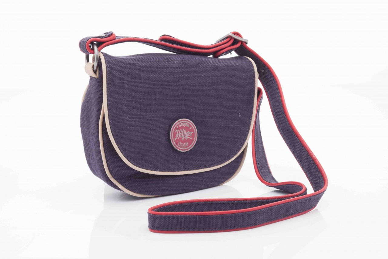 Torebka th lila linen mini clutch crossover 5