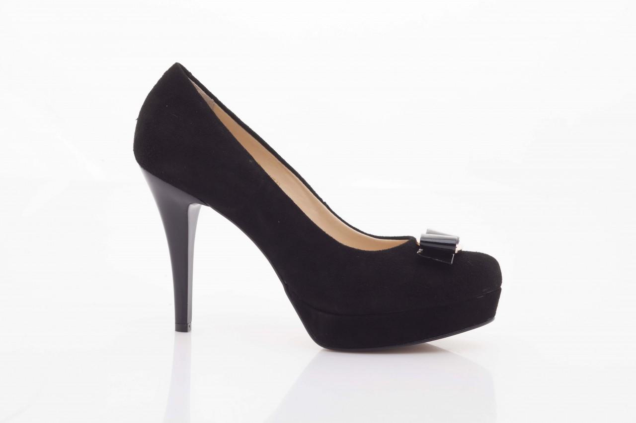 Czółenka bayla-sa 1479-21-7 czarny, skóra naturalna  - na platformie - czółenka - buty damskie - kobieta 6