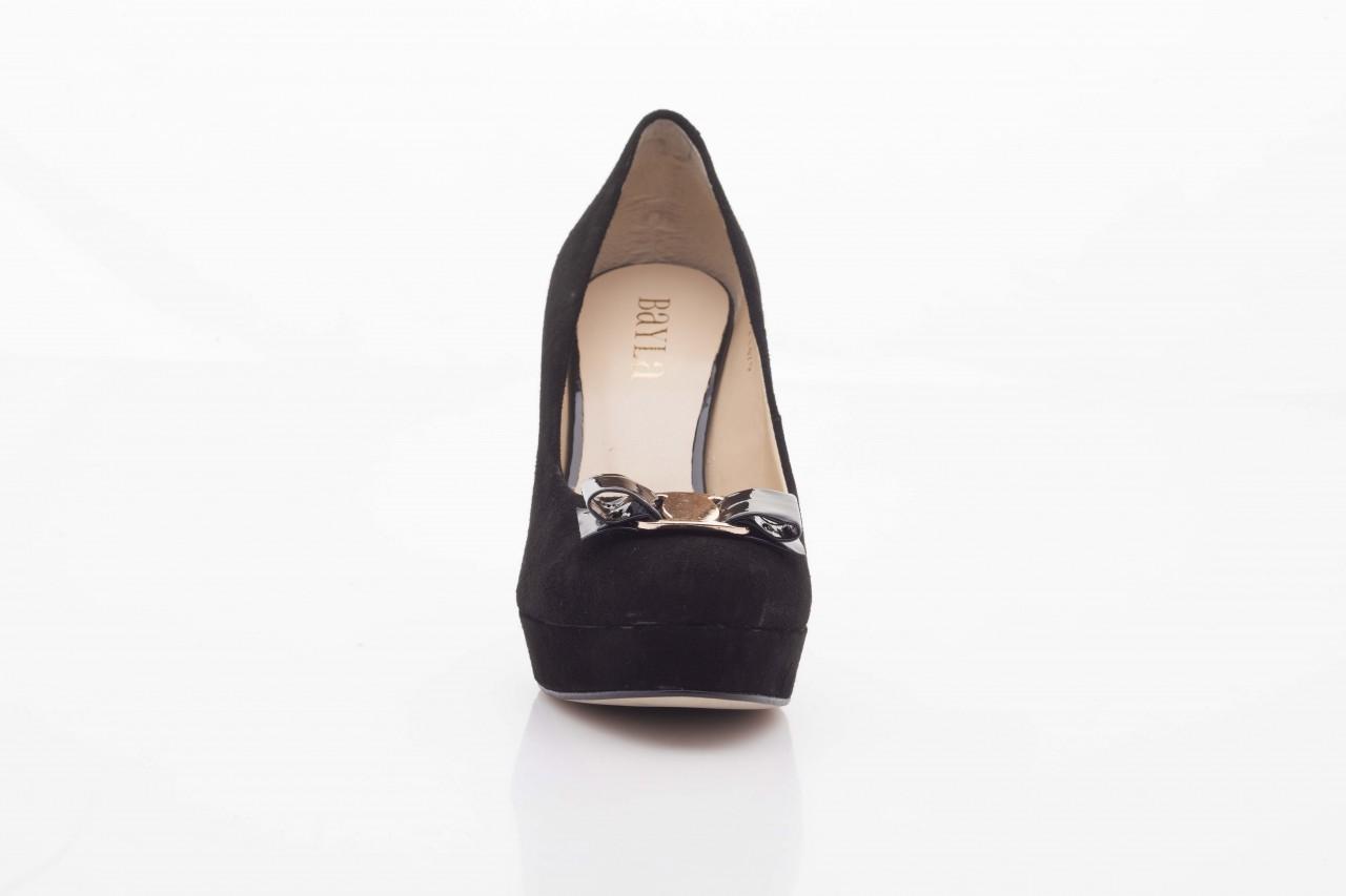 Czółenka bayla-sa 1479-21-7 czarny, skóra naturalna  - na platformie - czółenka - buty damskie - kobieta 9