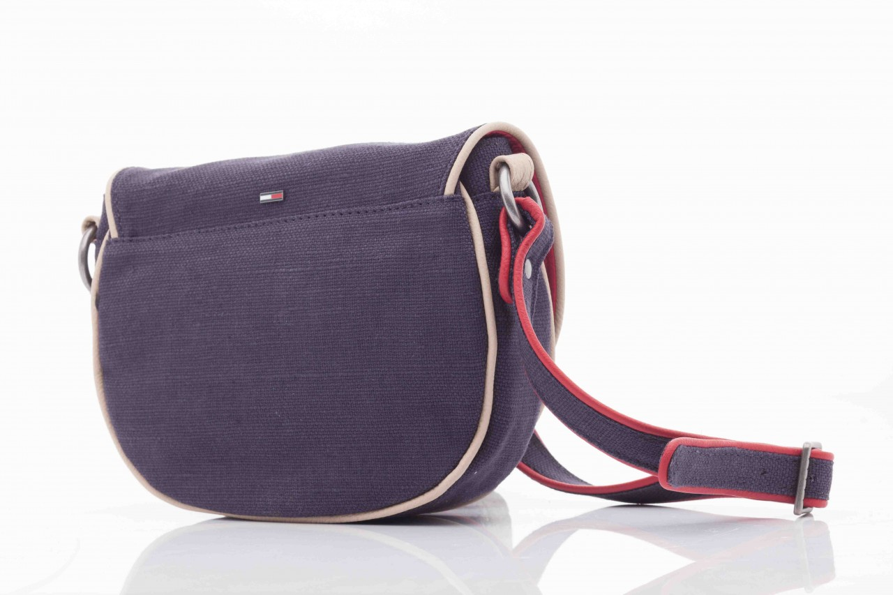 Torebka th lila linen mini clutch crossover 7