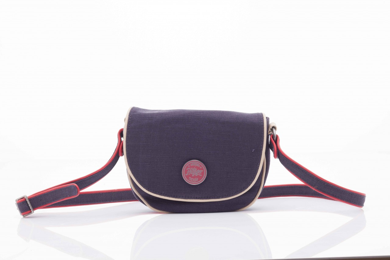 Torebka th lila linen mini clutch crossover 4