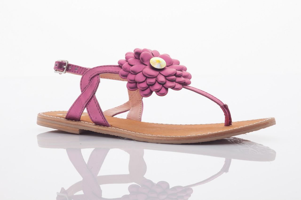 Sandały gioseppo popa fuchsia, róż, skóra naturalna  - gioseppo - nasze marki 9