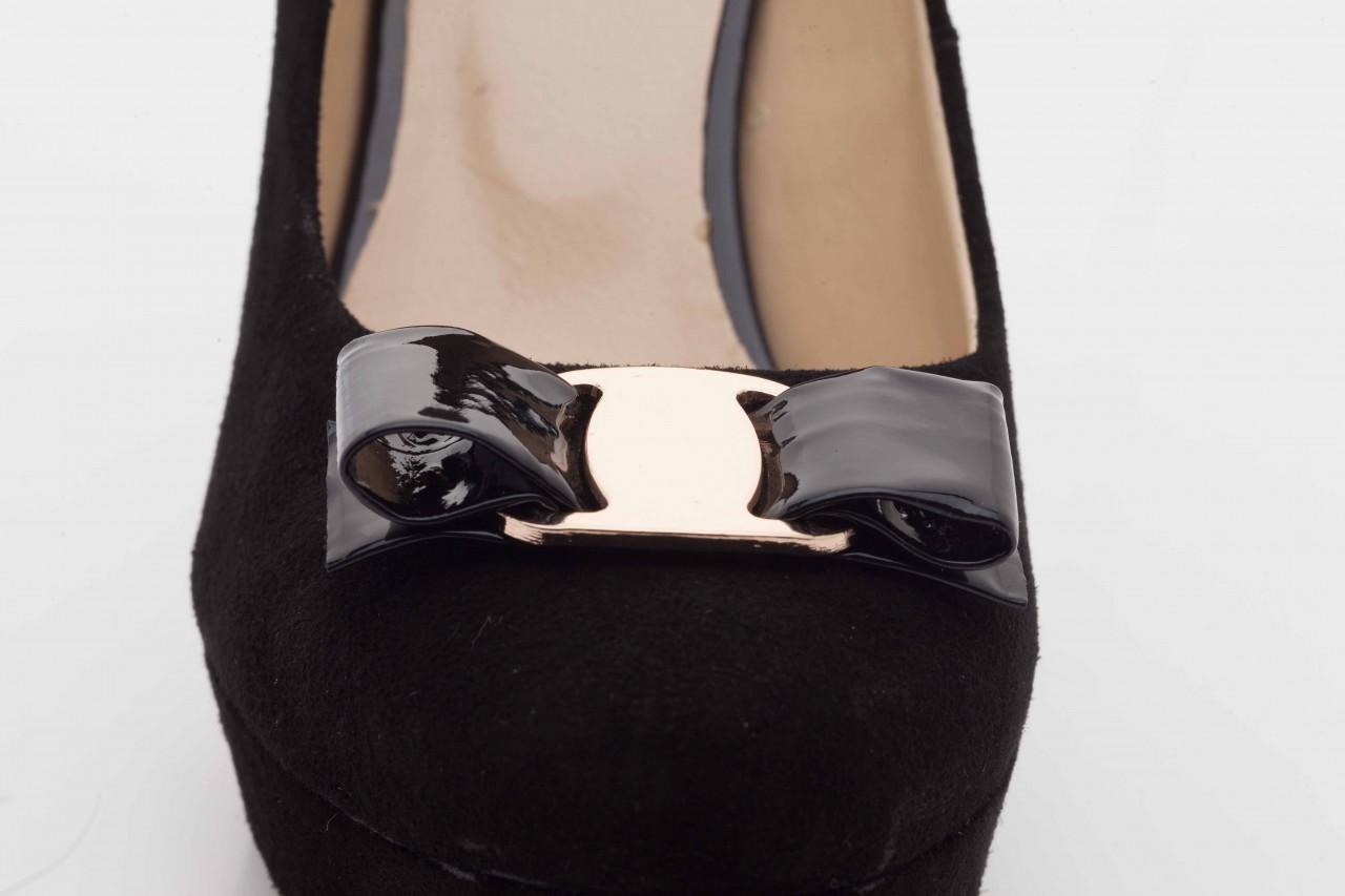 Czółenka bayla-sa 1479-21-7 czarny, skóra naturalna  - na platformie - czółenka - buty damskie - kobieta 11