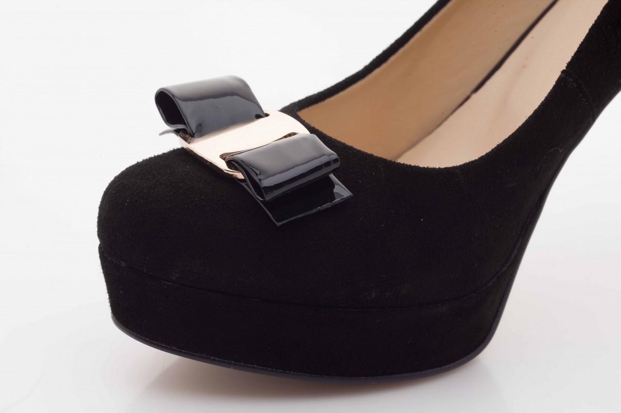 Czółenka bayla-sa 1479-21-7 czarny, skóra naturalna  - na platformie - czółenka - buty damskie - kobieta 10