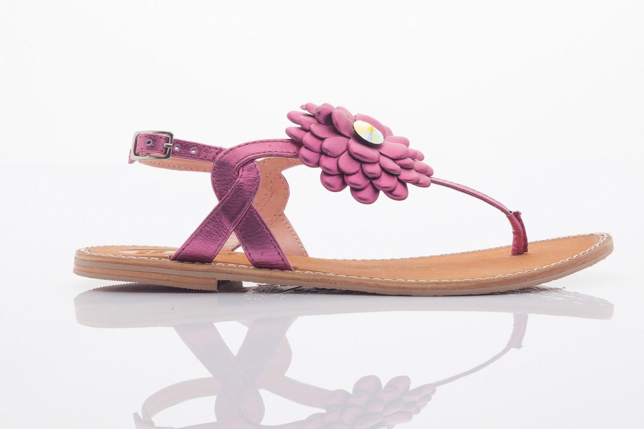 Sandały gioseppo popa fuchsia, róż, skóra naturalna  - gioseppo - nasze marki 7