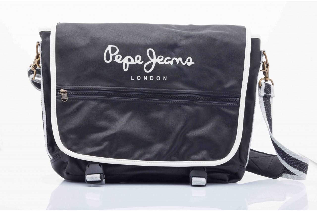 Pepe jeans nicolas bag black - pepe jeans  - nasze marki 7