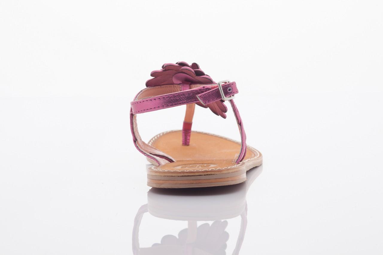 Sandały gioseppo popa fuchsia, róż, skóra naturalna  - gioseppo - nasze marki 8
