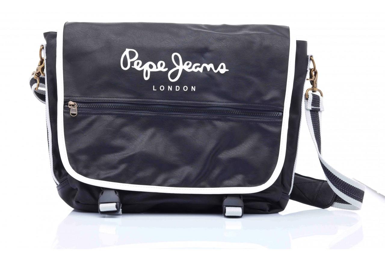 Pepe jeans nicolas bag black - pepe jeans  - nasze marki 9