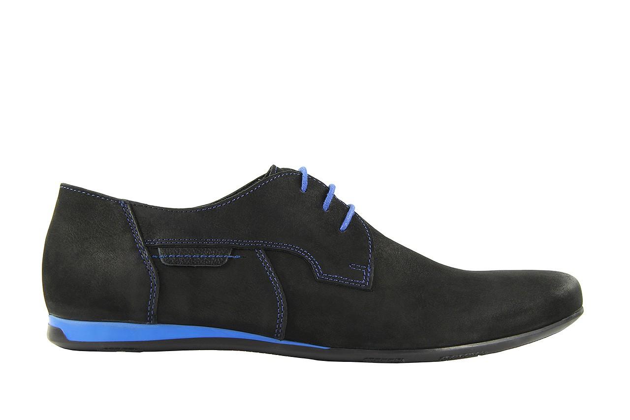 Półbuty tresor-ni 157 czarny floter-niebieski, skóra naturalna - tresor - nasze marki 4