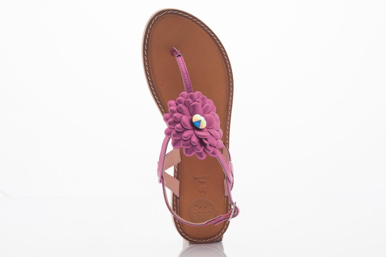 Sandały gioseppo popa fuchsia, róż, skóra naturalna  - gioseppo - nasze marki 5