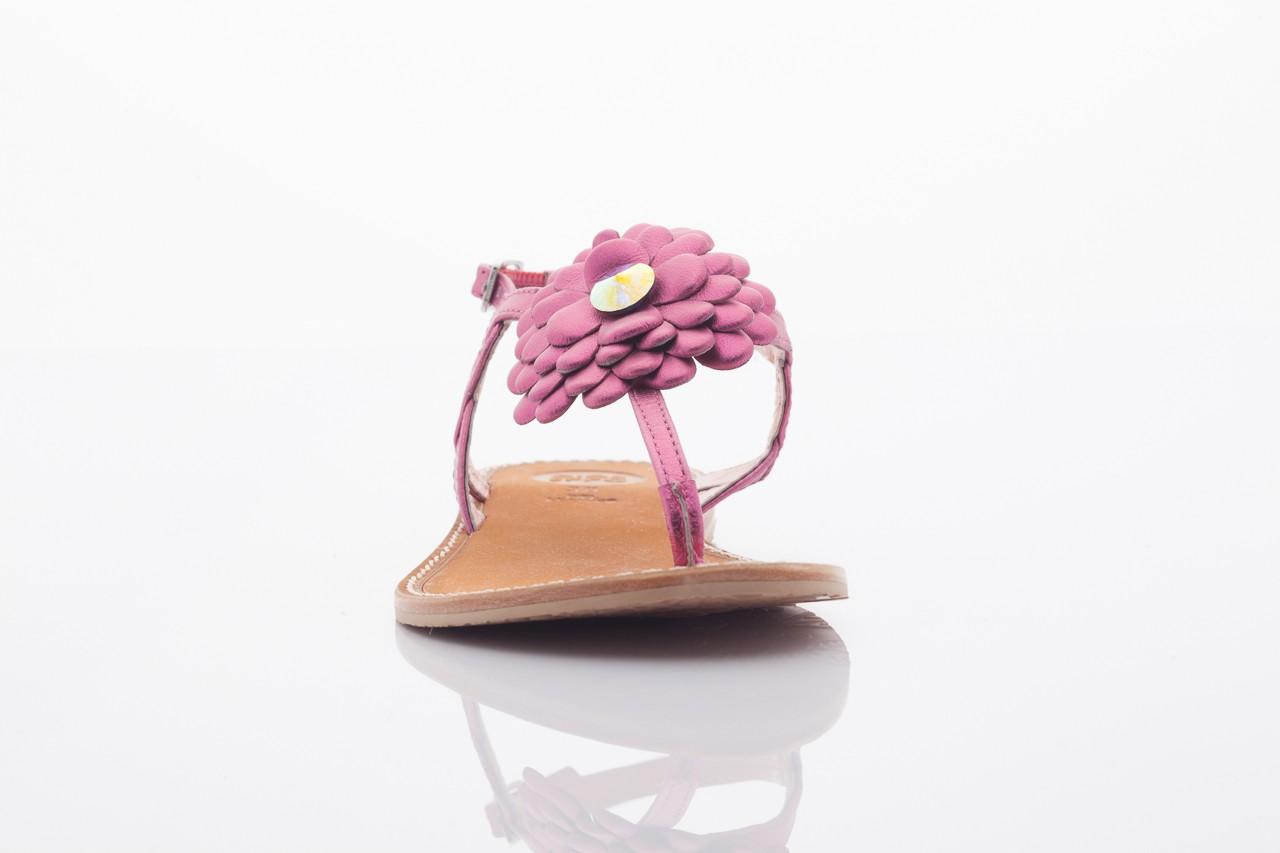 Sandały gioseppo popa fuchsia, róż, skóra naturalna  - gioseppo - nasze marki 6