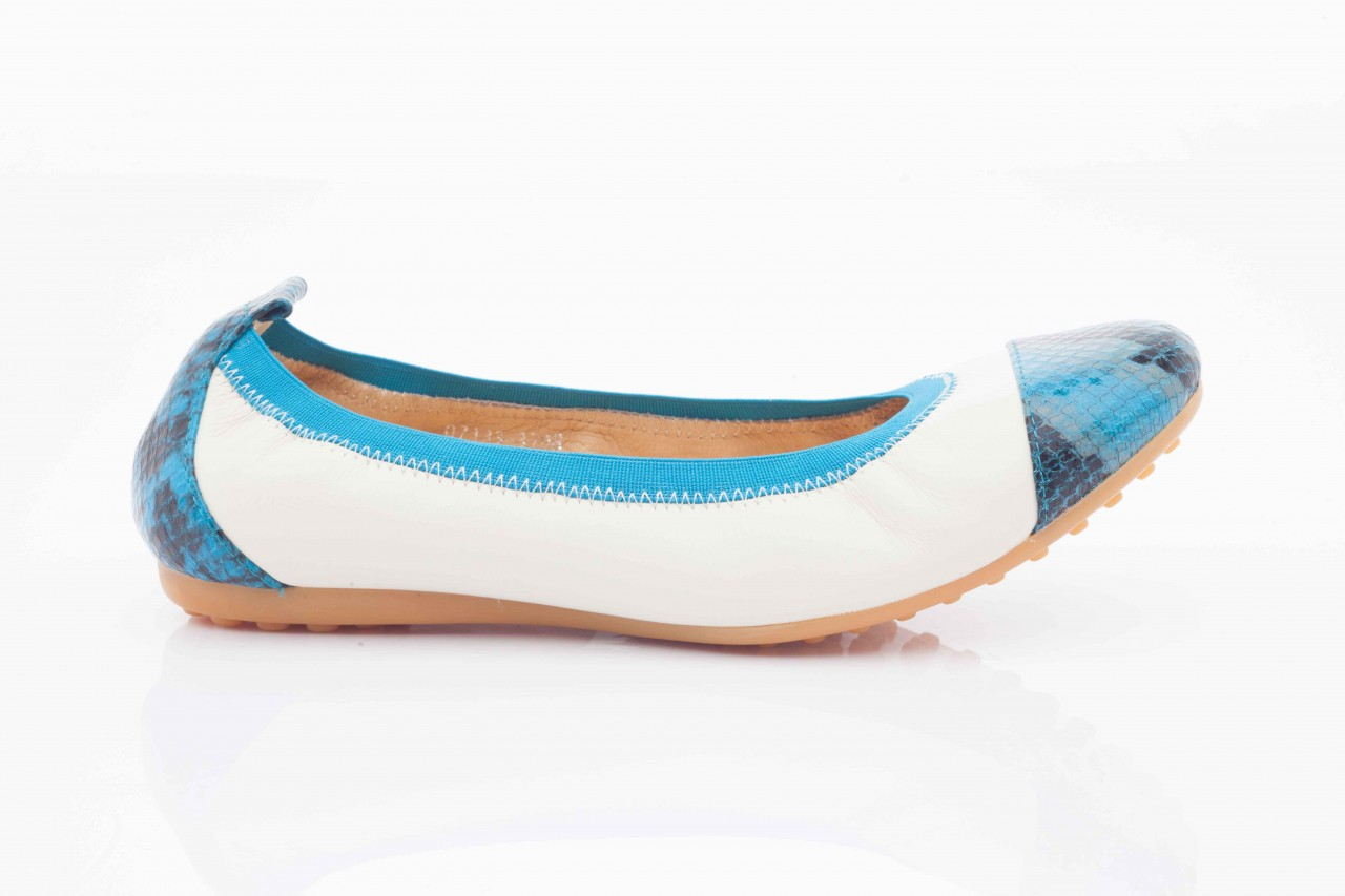 Bayla 07133-370b beige sheep blue multi snake - bayla - nasze marki 6