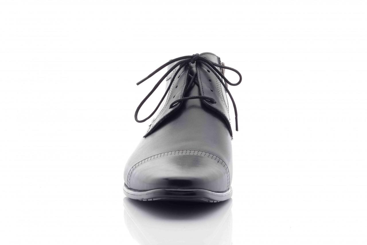 Trzewiki tresor-tr 2882 czarny, skóra naturalna - wizytowe - trzewiki - buty męskie - mężczyzna 7