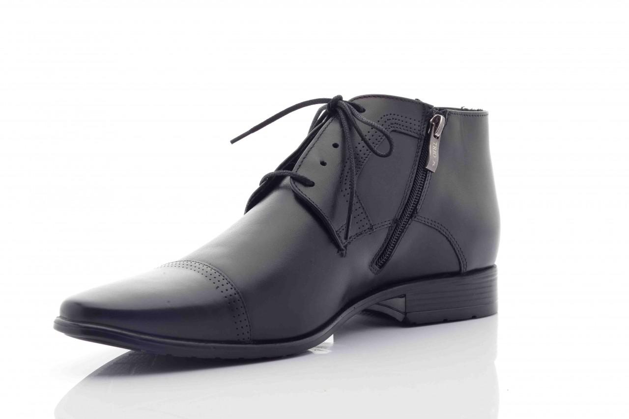 Trzewiki tresor-tr 2882 czarny, skóra naturalna - wizytowe - trzewiki - buty męskie - mężczyzna 6