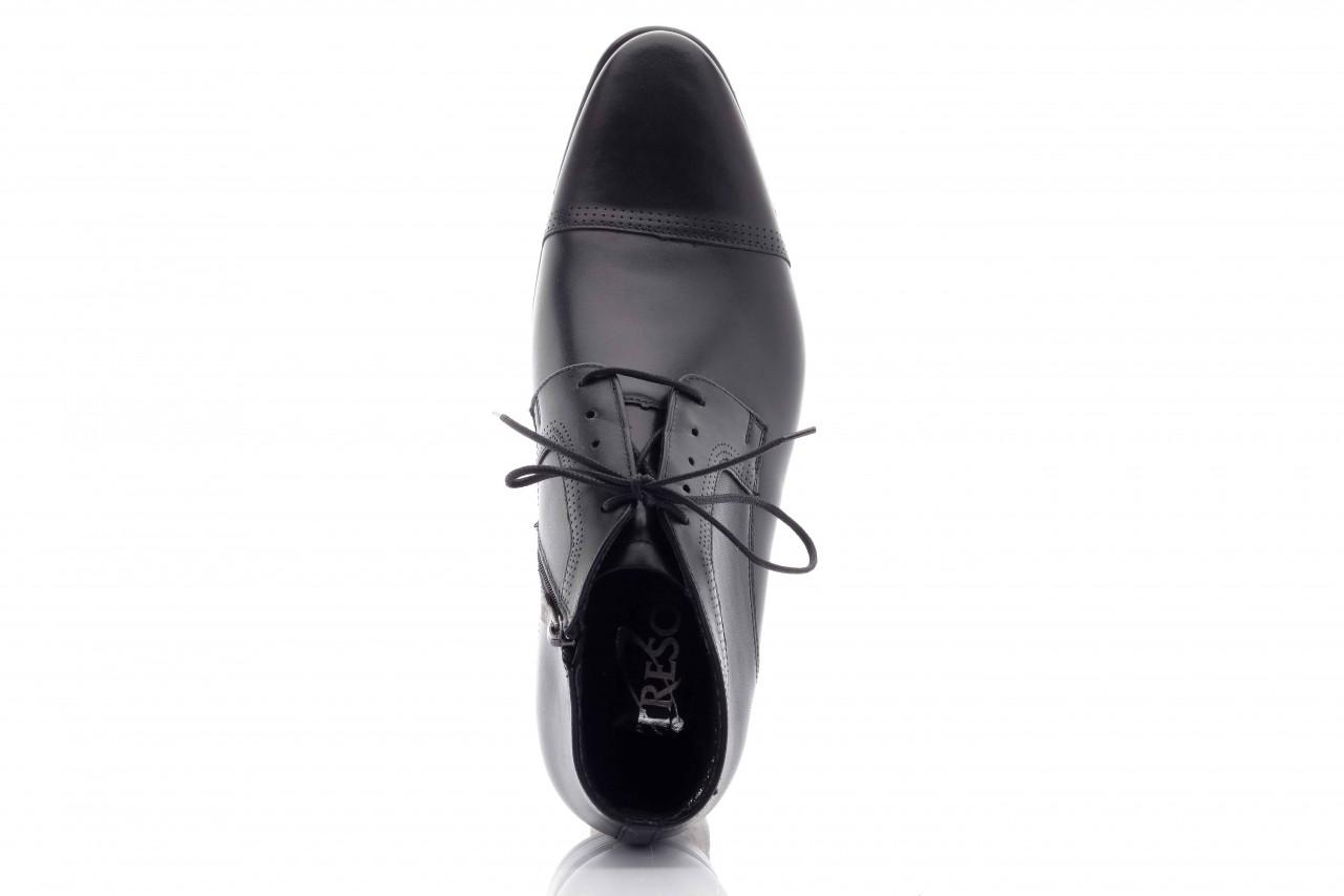 Trzewiki tresor-tr 2882 czarny, skóra naturalna - wizytowe - trzewiki - buty męskie - mężczyzna 8