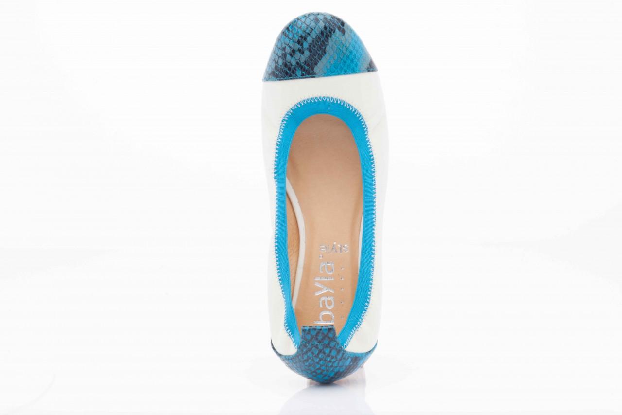 Bayla 07133-370b beige sheep blue multi snake - bayla - nasze marki 9
