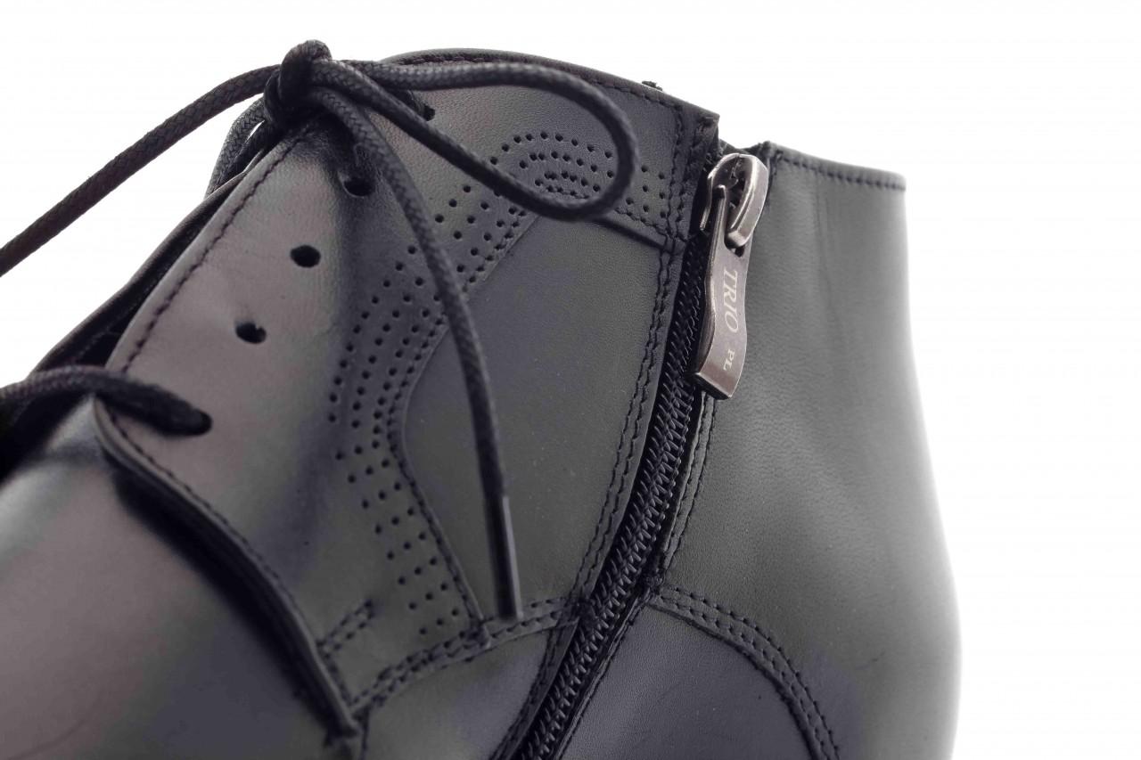 Trzewiki tresor-tr 2882 czarny, skóra naturalna - wizytowe - trzewiki - buty męskie - mężczyzna 10