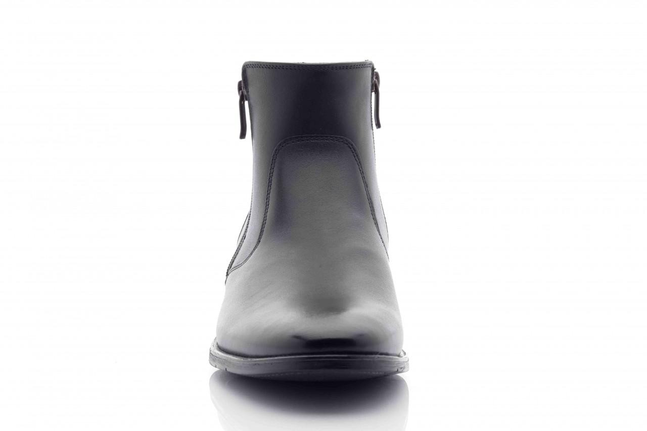 Trzewiki tresor-tr 3042 czarny, skóra naturalna  - wizytowe - trzewiki - buty męskie - mężczyzna 6