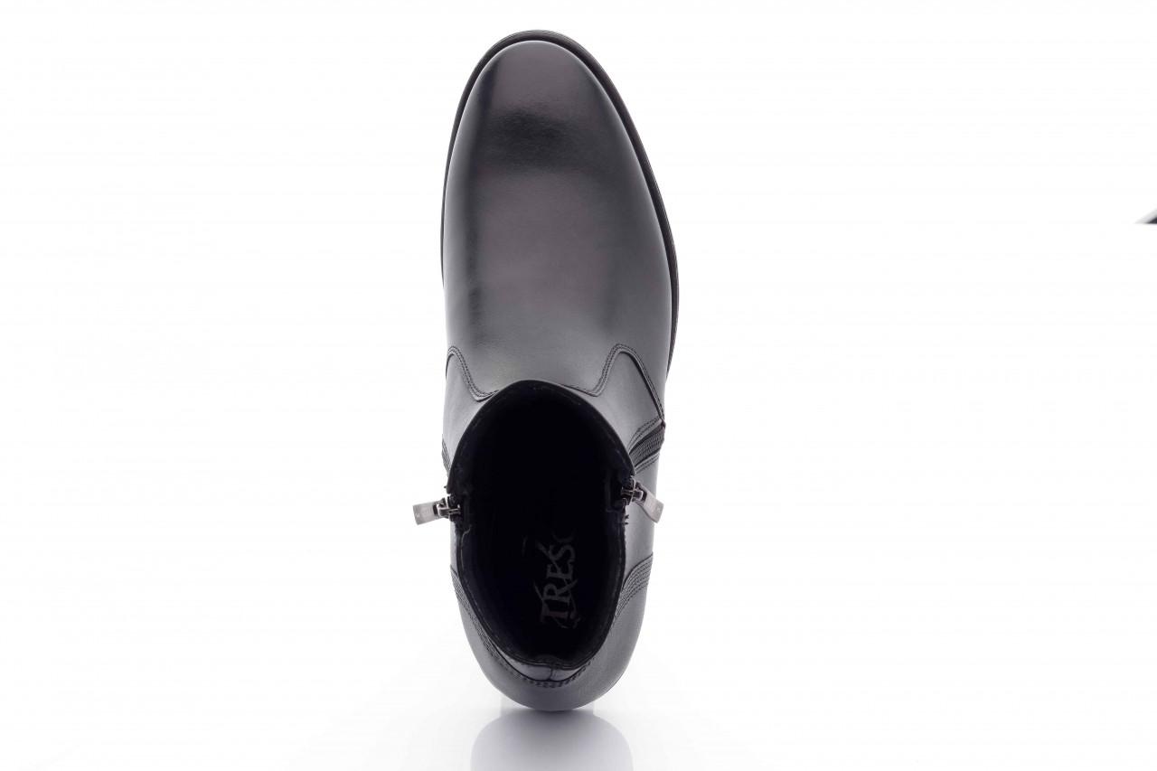Trzewiki tresor-tr 3042 czarny, skóra naturalna  - wizytowe - trzewiki - buty męskie - mężczyzna 8