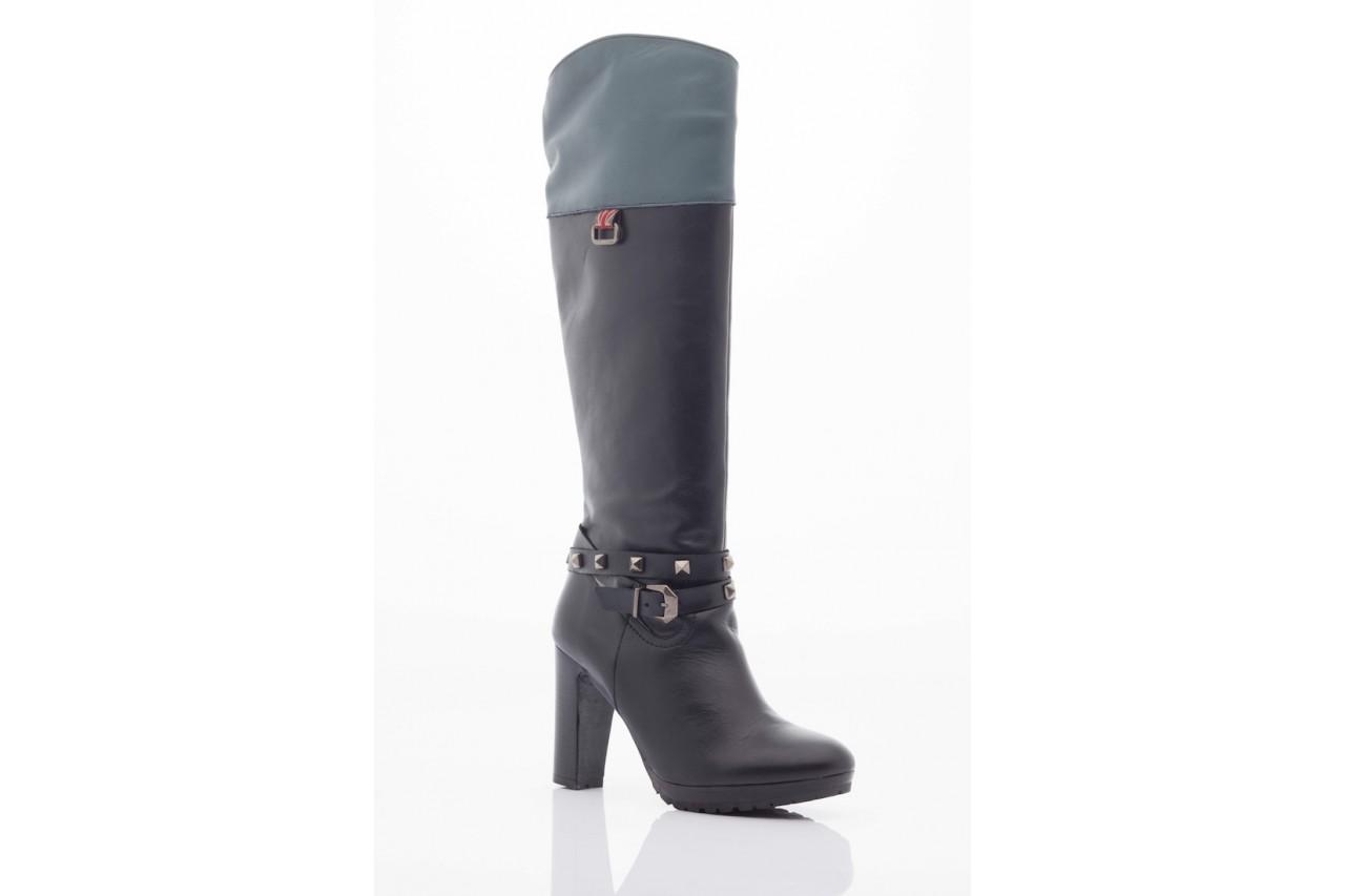 Kozaki pepe jeans pfs50351 999 black, czarny, skóra naturalna - pepe jeans  - nasze marki 5