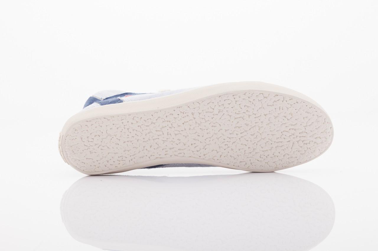 Trampki napapijri 0674010 lt. blue, niebieskie, materiał  - wysokie - trampki - buty damskie - kobieta 9