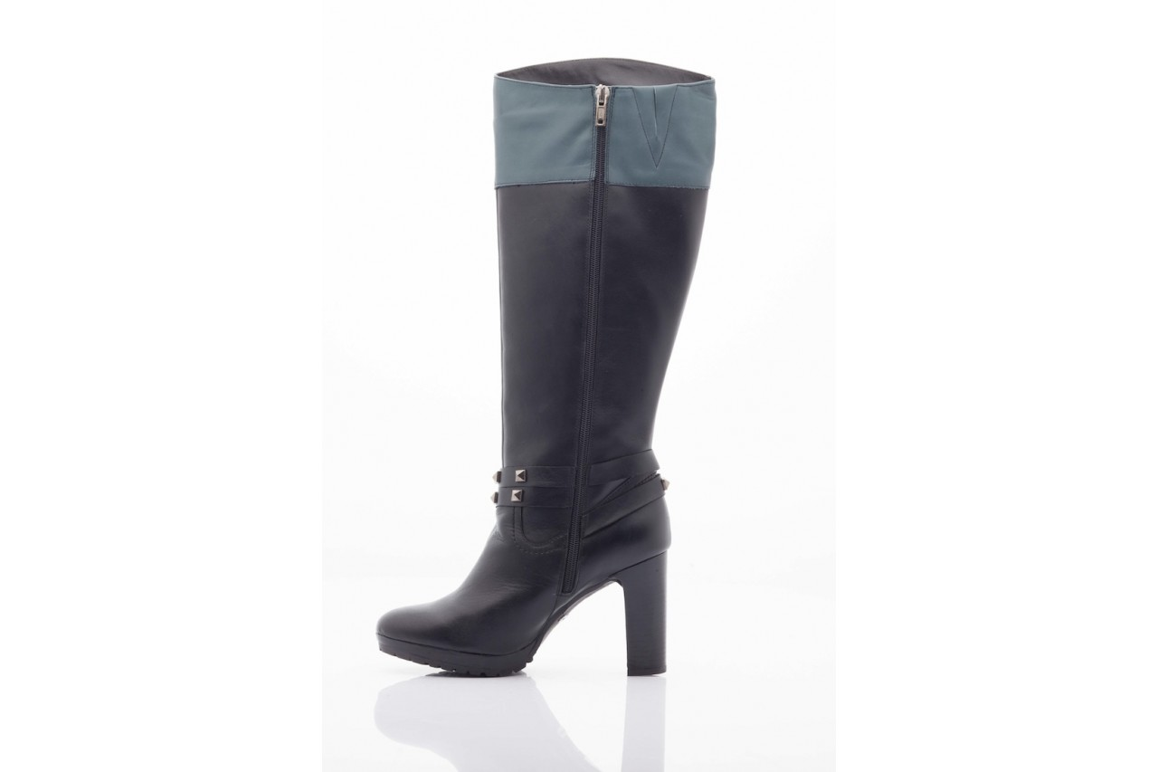 Kozaki pepe jeans pfs50351 999 black, czarny, skóra naturalna - pepe jeans  - nasze marki 9