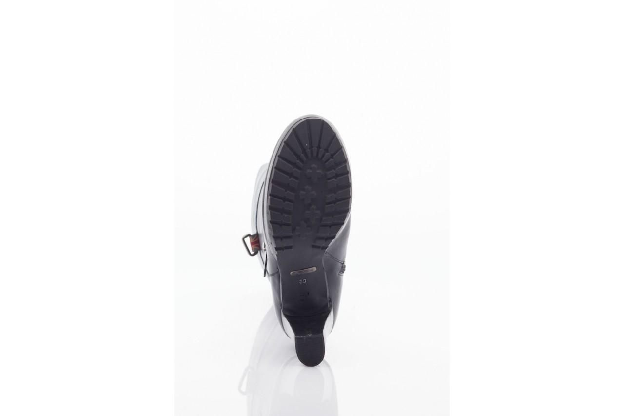 Kozaki pepe jeans pfs50351 999 black, czarny, skóra naturalna - pepe jeans  - nasze marki 8