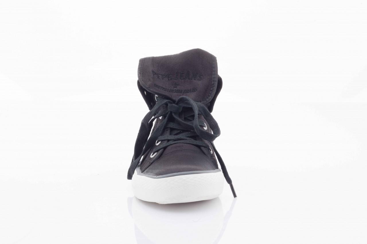 Trampki pepe jeans pfs50409 999 black, czarny, tkanina  - pepe jeans  - nasze marki 10