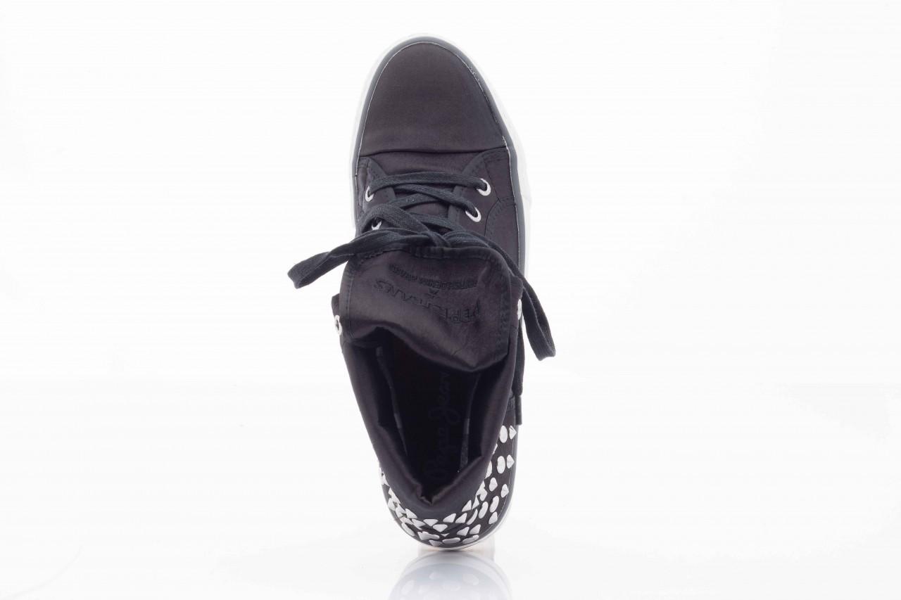 Trampki pepe jeans pfs50409 999 black, czarny, tkanina  - pepe jeans  - nasze marki 11