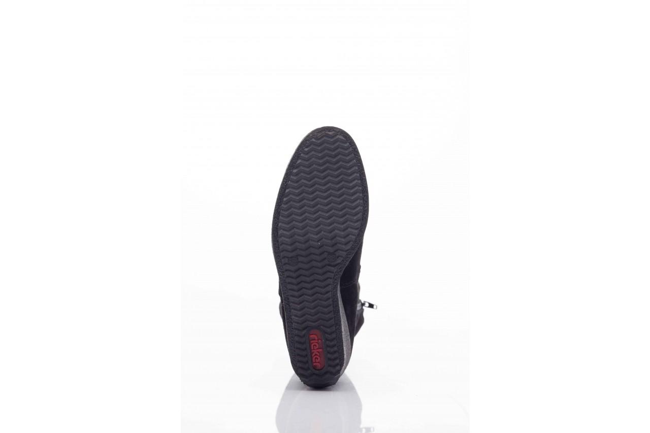 Rieker z5780-00 black  - nasze marki 7
