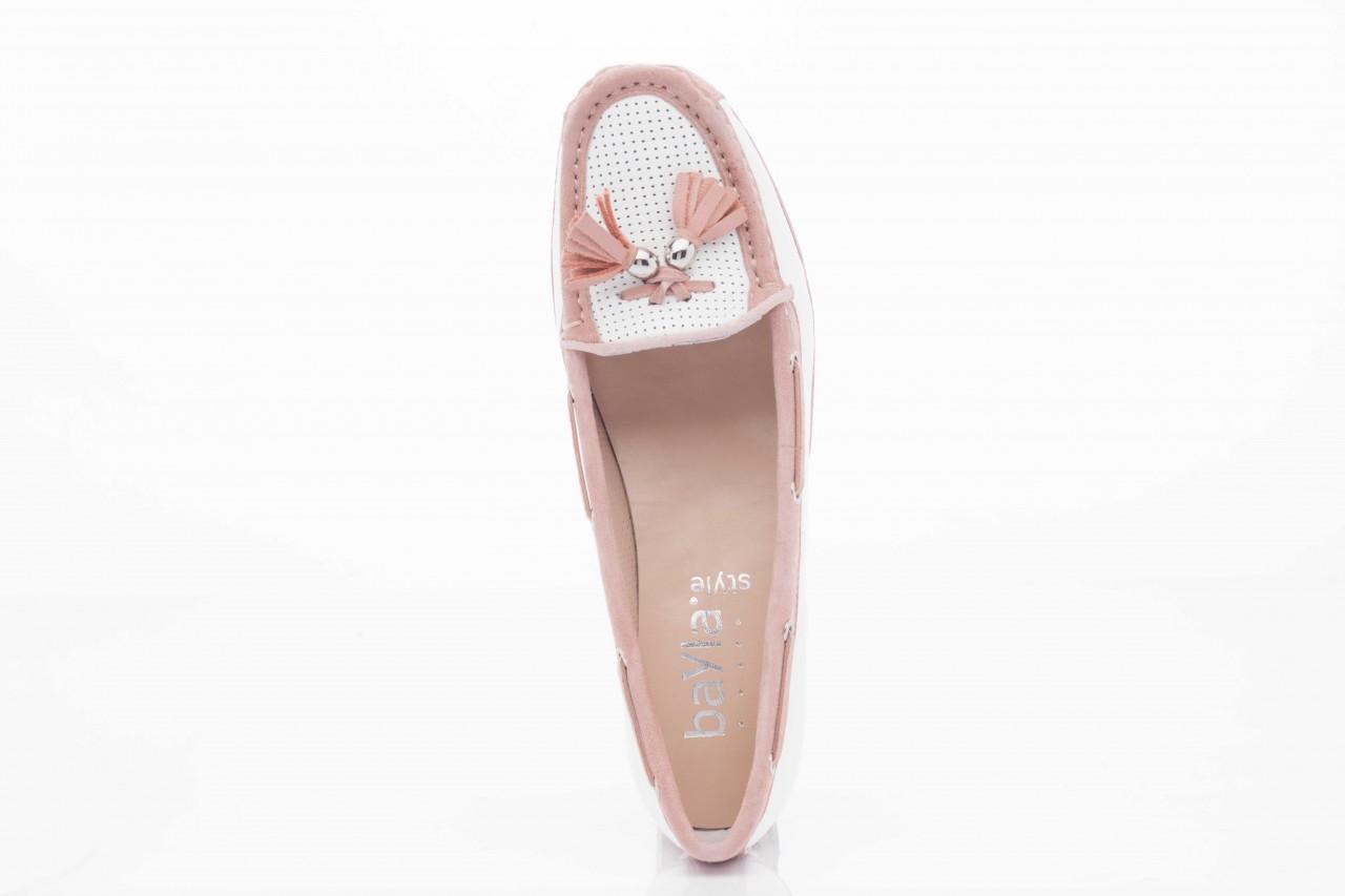 Bayla fl158-1 white nappa pink - bayla - nasze marki 9