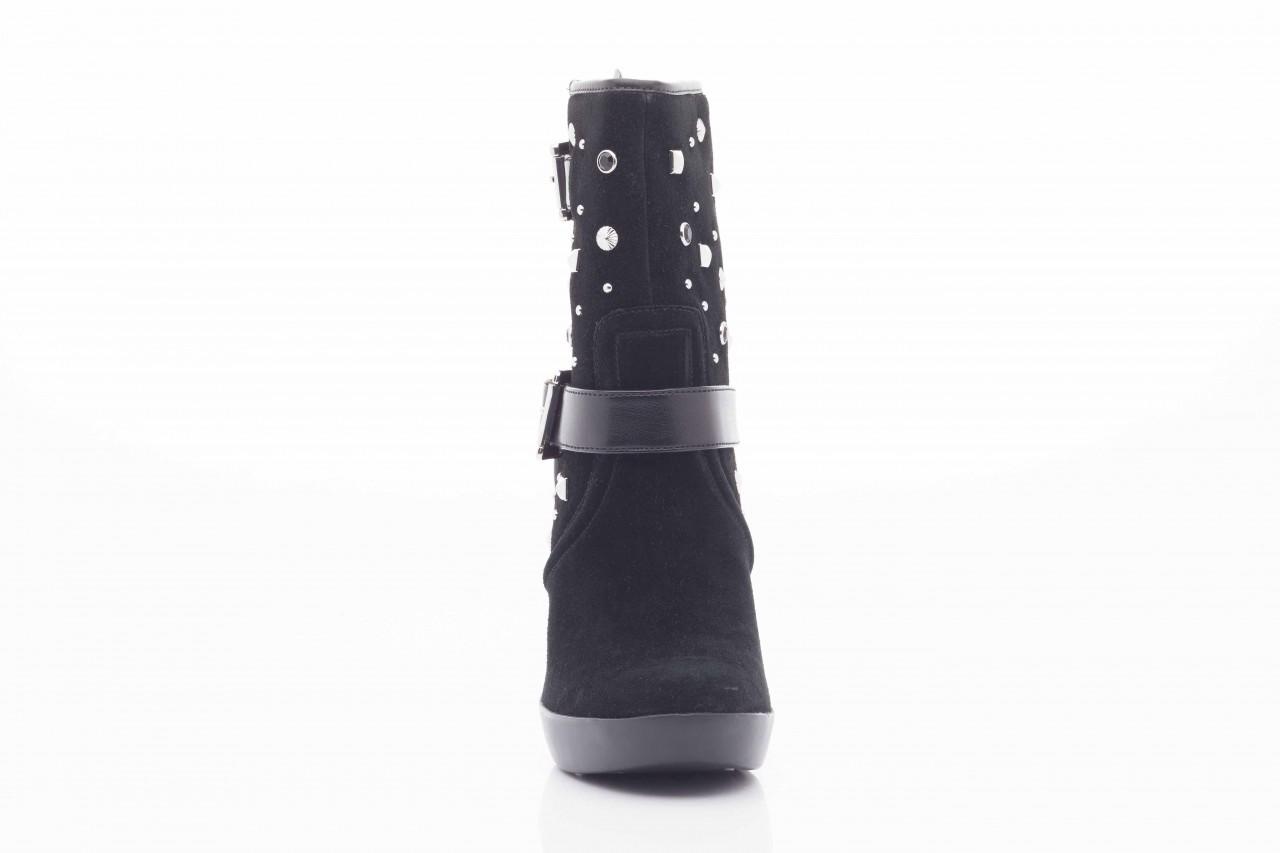 Botki guess fl4arilea12 black, czarny, skóra naturalna  - biker - botki - buty damskie - kobieta 9