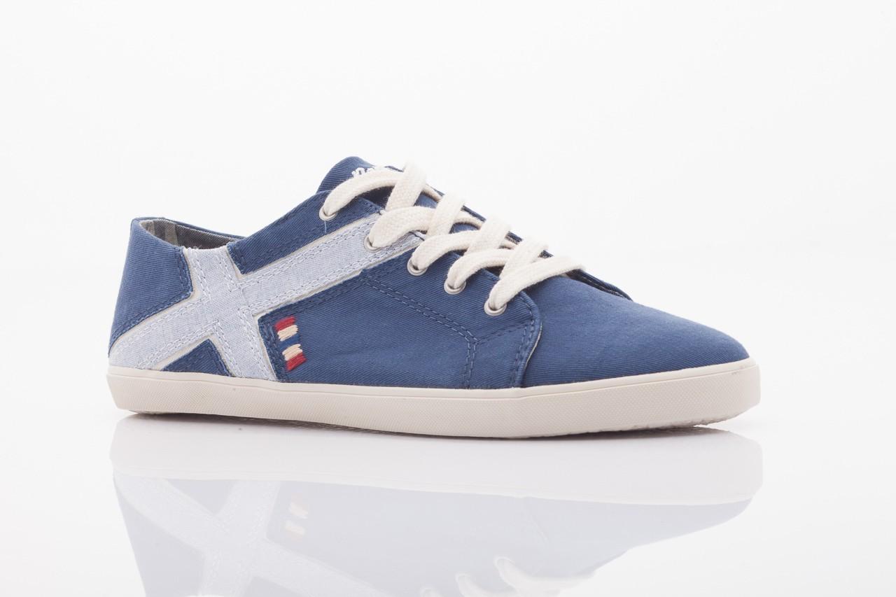 Trampki napapijri 0673030 dark blue, niebieski, materiał 9