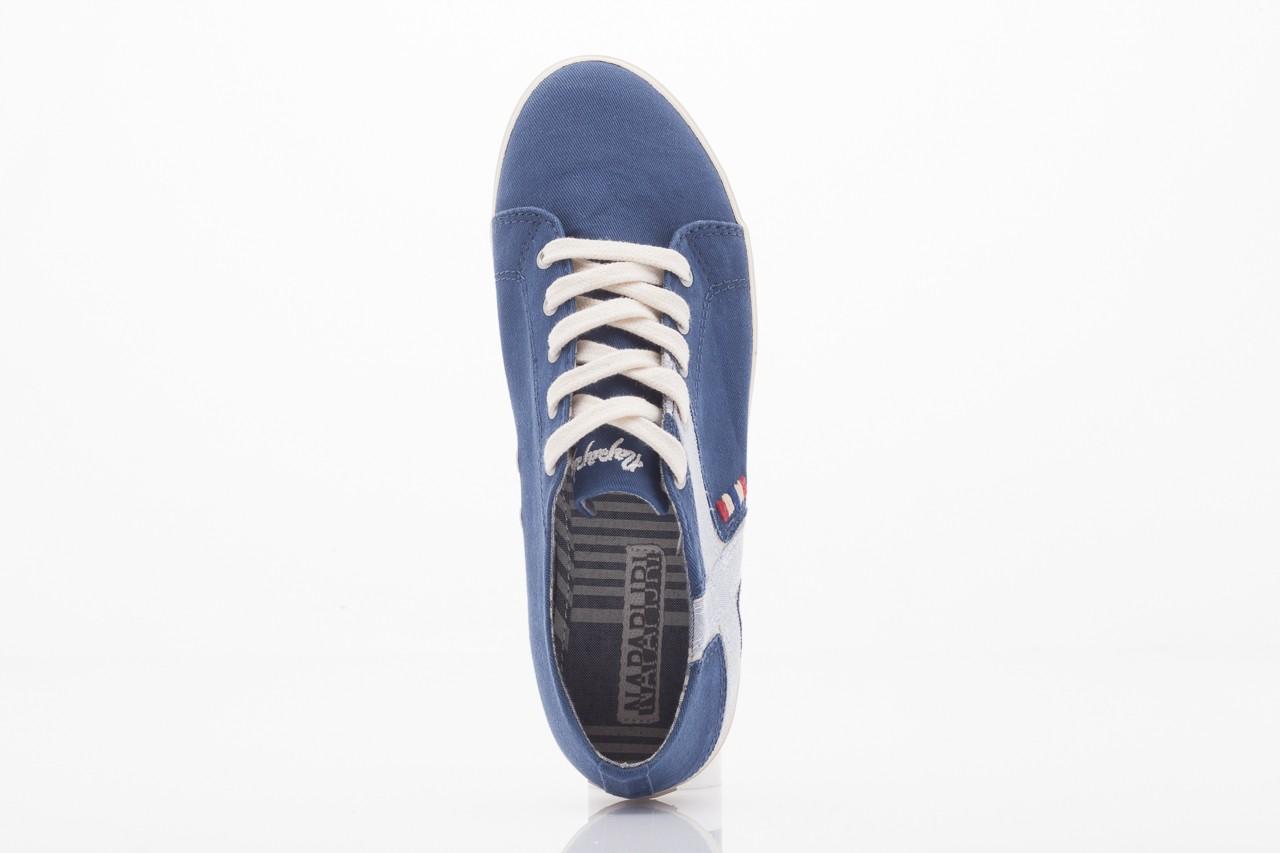 Trampki napapijri 0673030 dark blue, niebieski, materiał 5