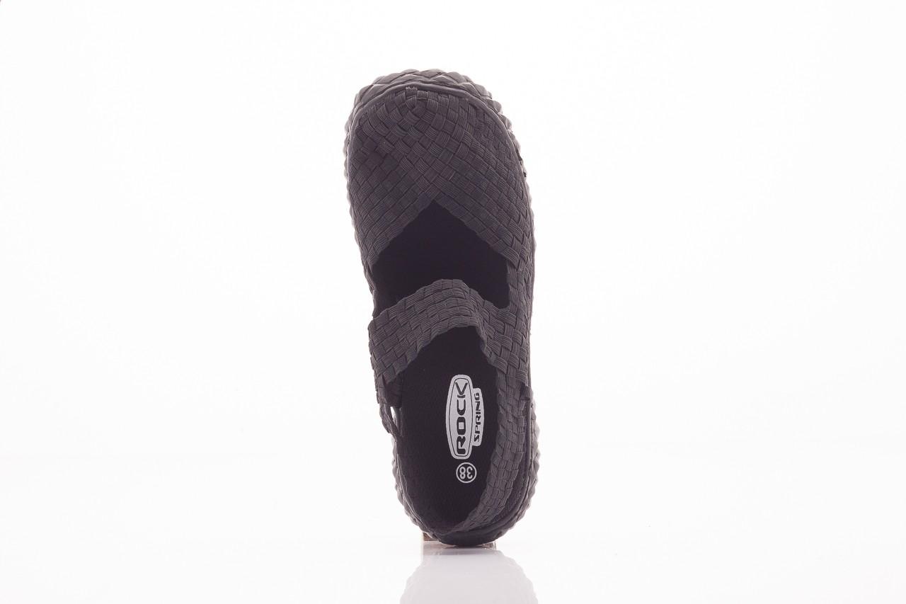 Rock over sandal black - rock - nasze marki 6