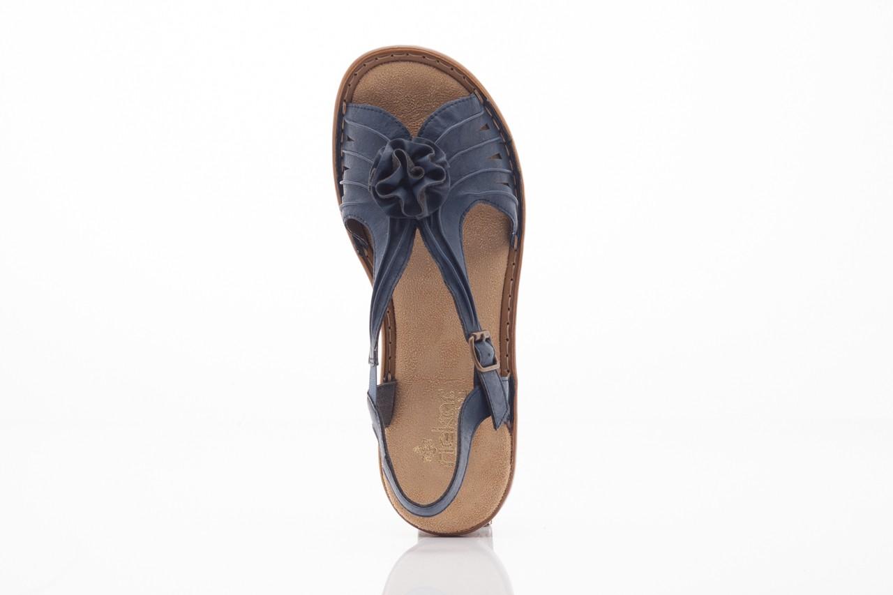 Rieker 60863-14 blue 9