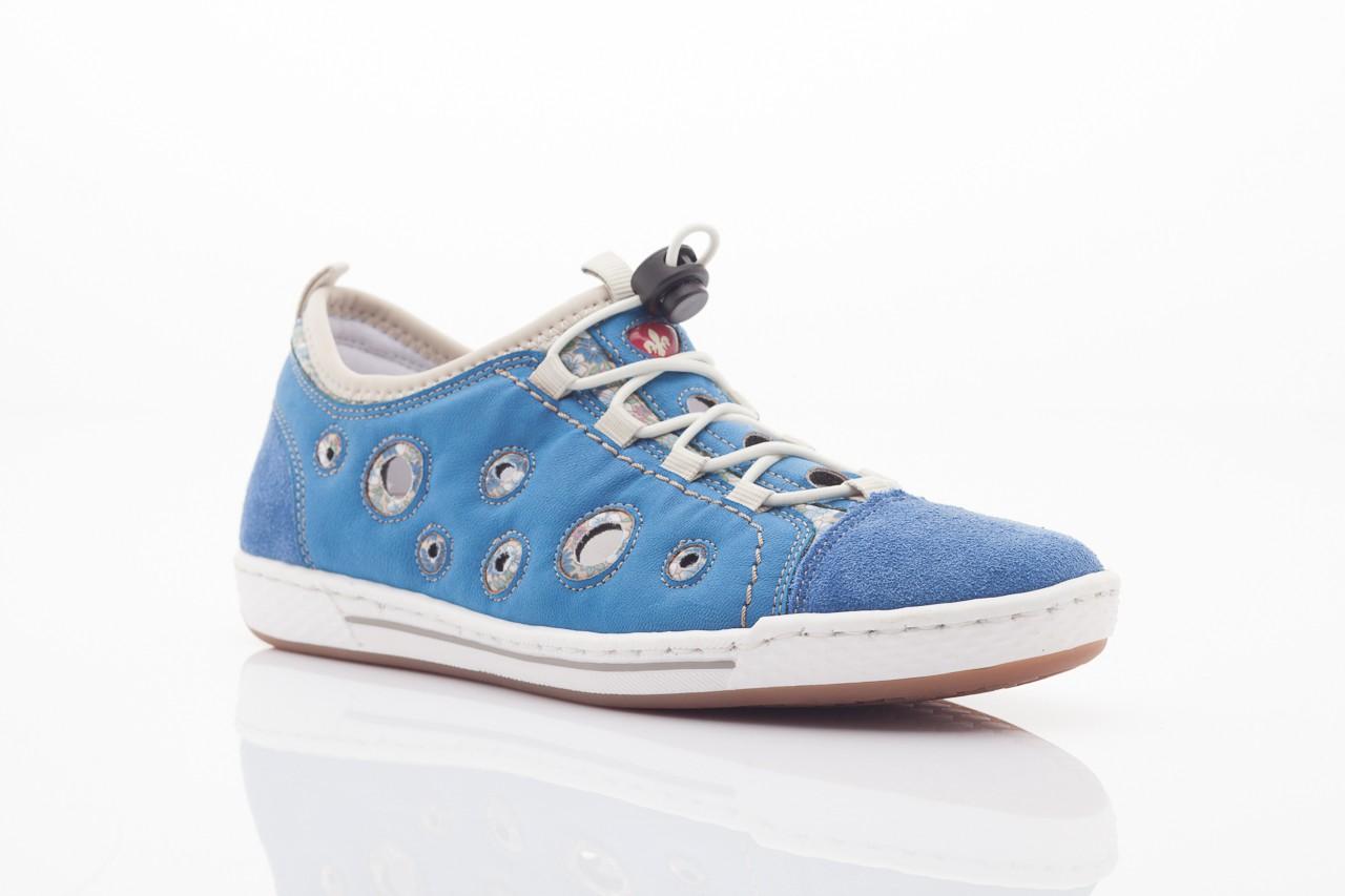 Rieker l3075-14 blau kombi 5