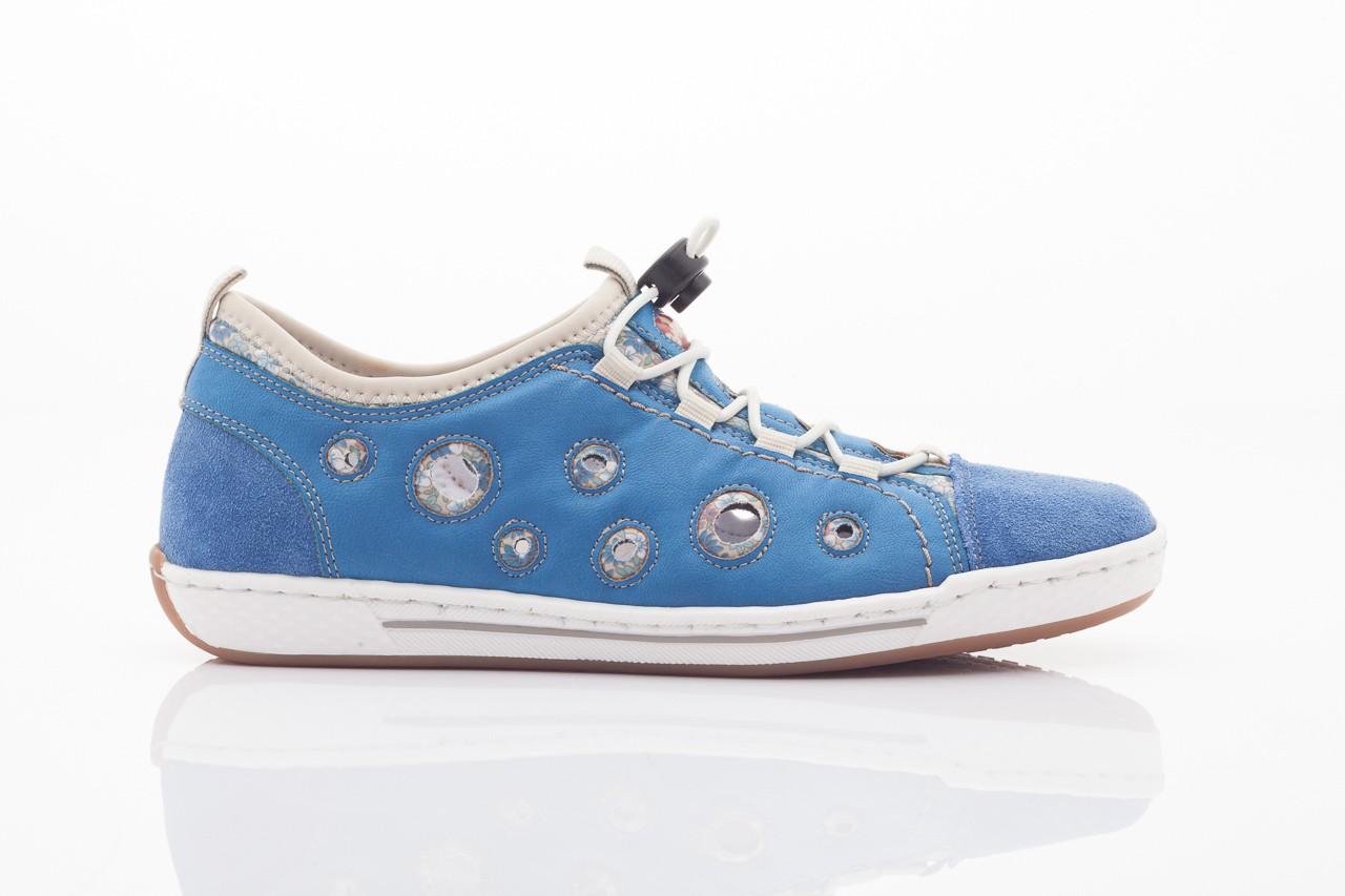 Rieker l3075-14 blau kombi 9