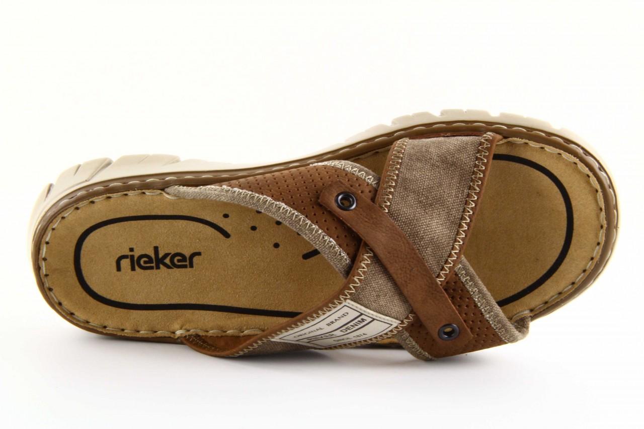 Rieker 26764-25 brown combination 9