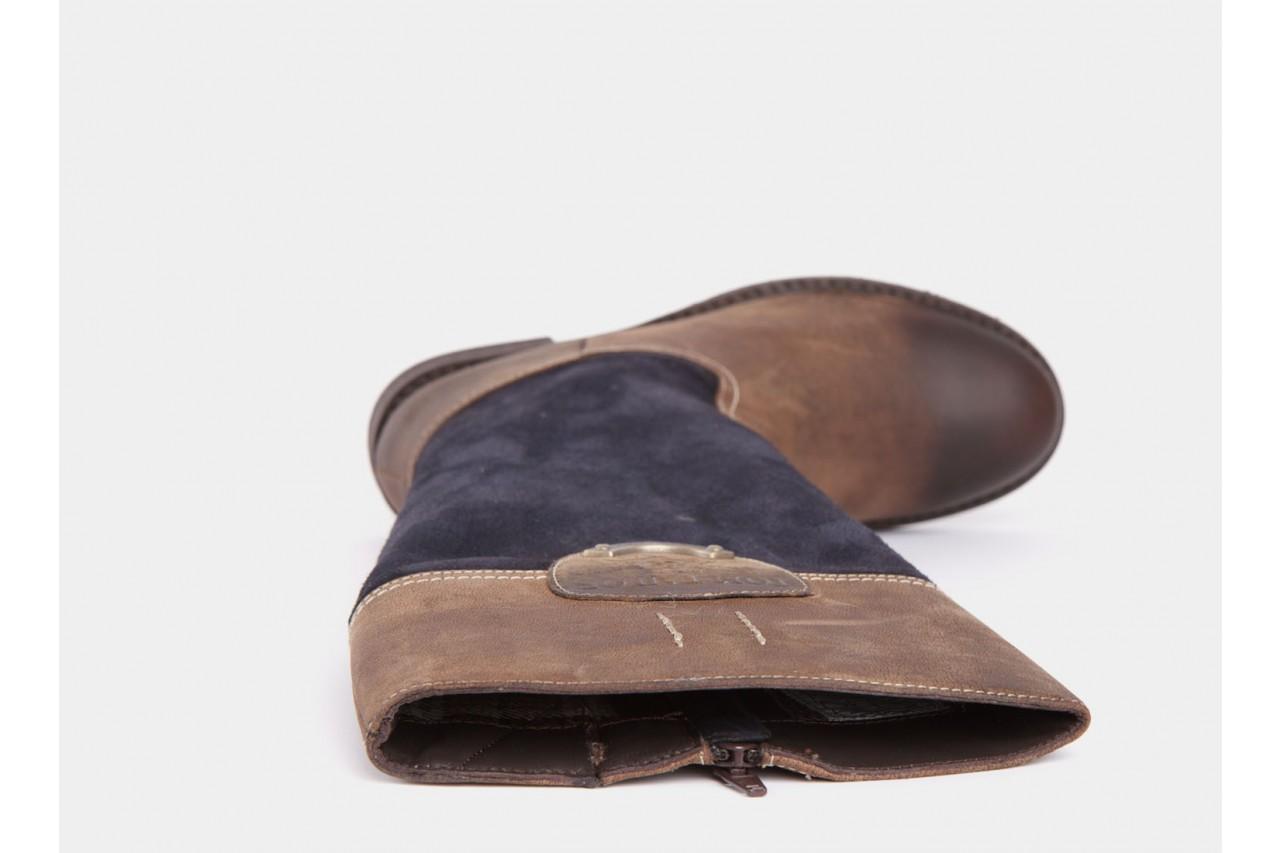 Tom taylor 0518211 brown-dk. blue 12