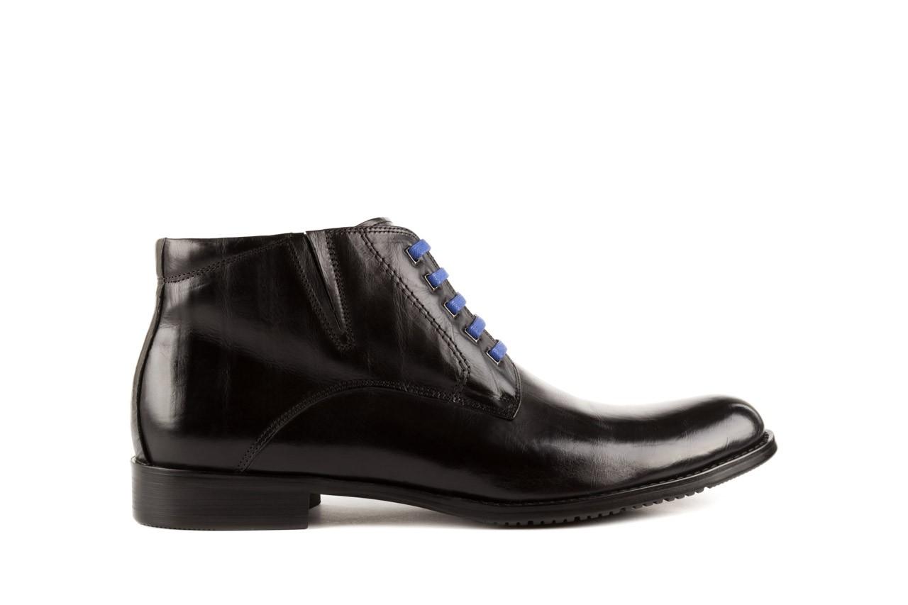 Trzewiki john doubare y1051-12-10 black, czarny, skóra naturalna - wizytowe - trzewiki - buty męskie - mężczyzna 6