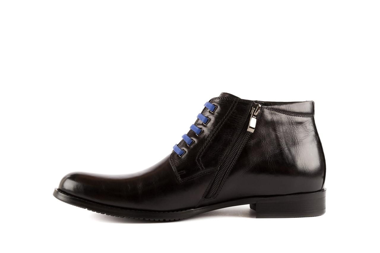 Trzewiki john doubare y1051-12-10 black, czarny, skóra naturalna - wizytowe - trzewiki - buty męskie - mężczyzna 8