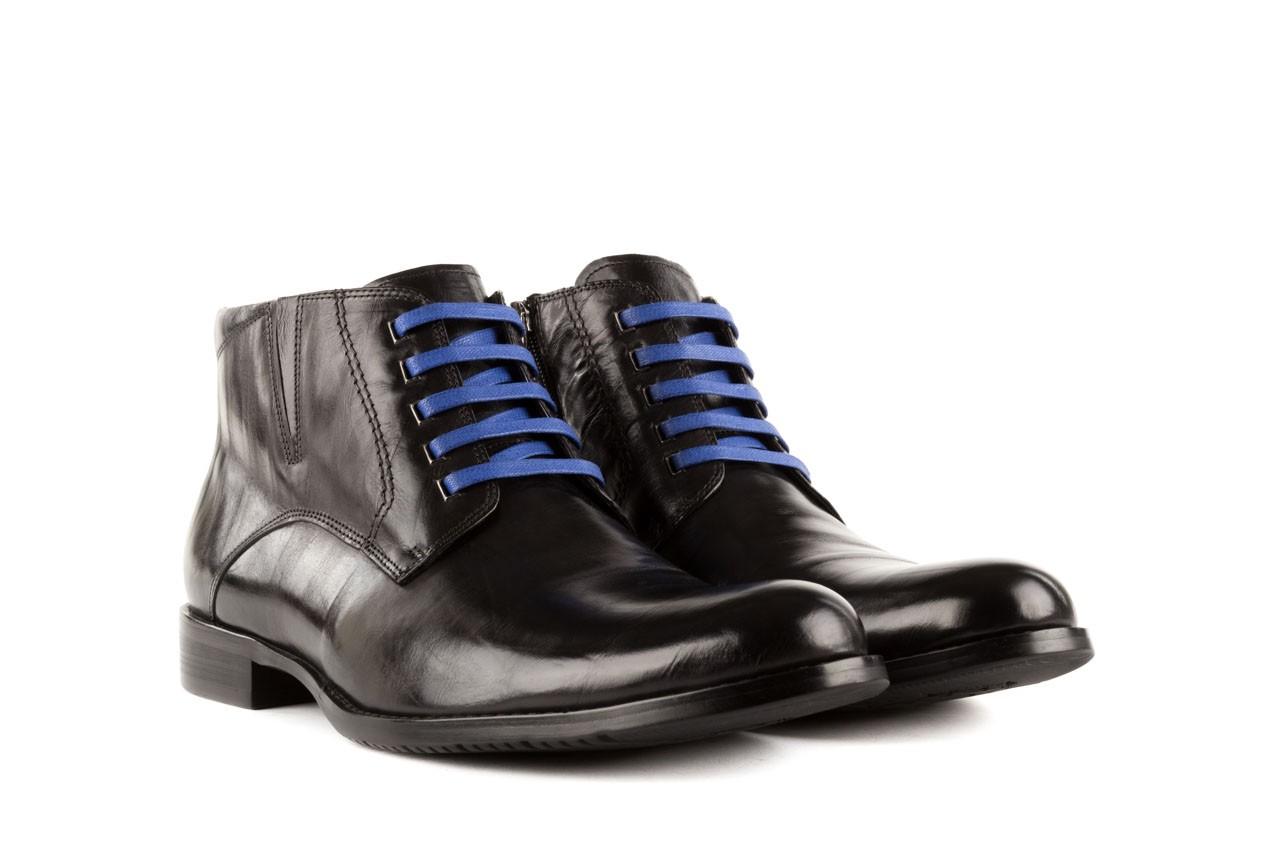 Trzewiki john doubare y1051-12-10 black, czarny, skóra naturalna - wizytowe - trzewiki - buty męskie - mężczyzna 7