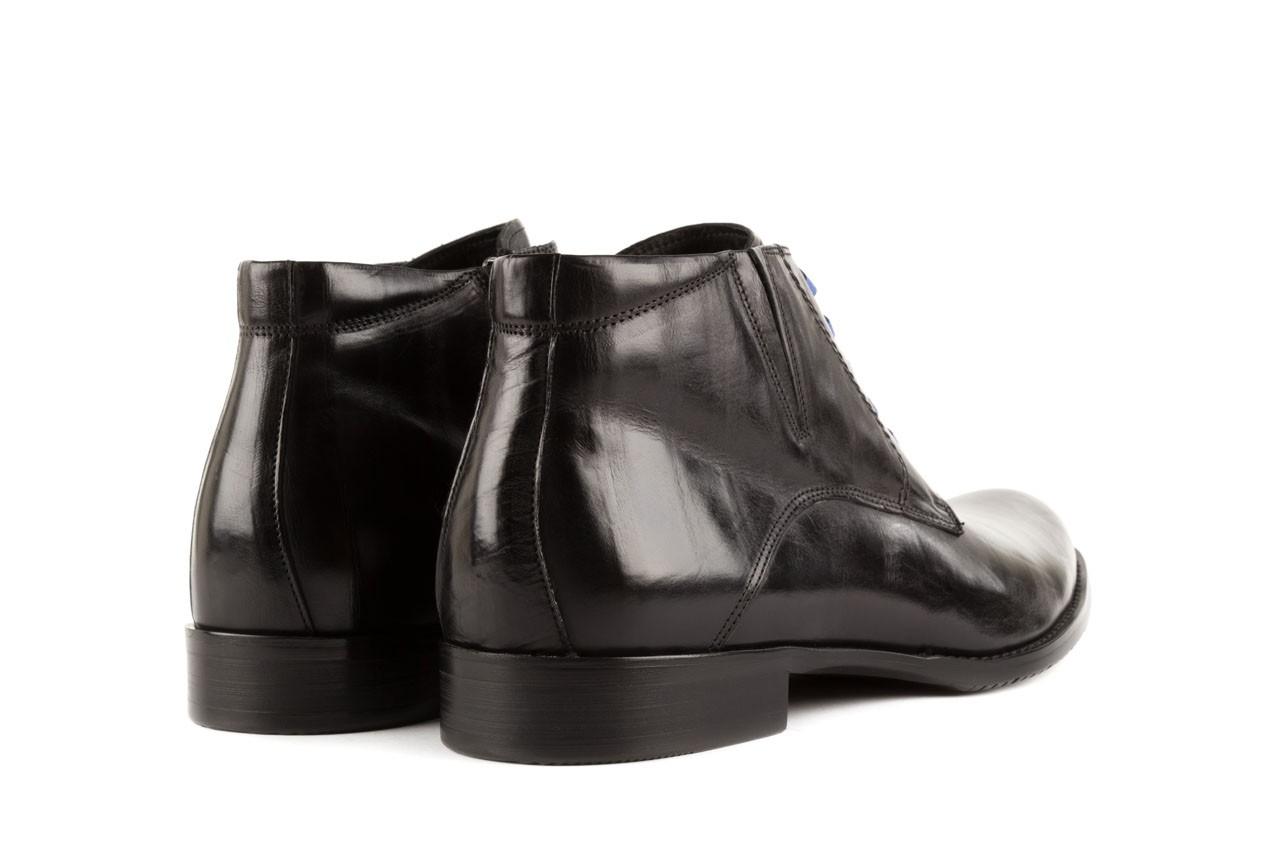 Trzewiki john doubare y1051-12-10 black, czarny, skóra naturalna - wizytowe - trzewiki - buty męskie - mężczyzna 9