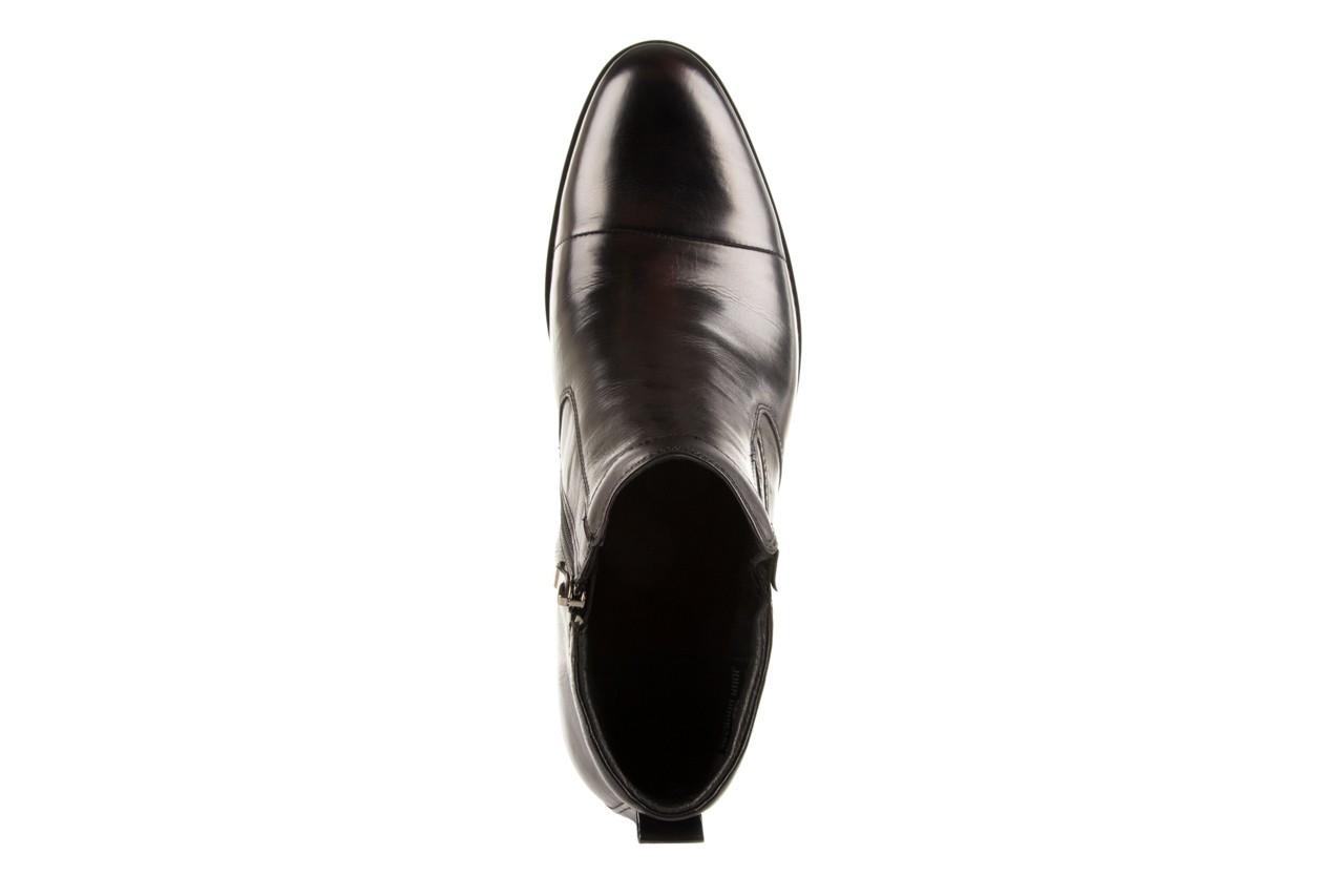 Trzewiki john doubare y1051-a25-5 black, czarny, skóra naturalna - brooman - nasze marki 10