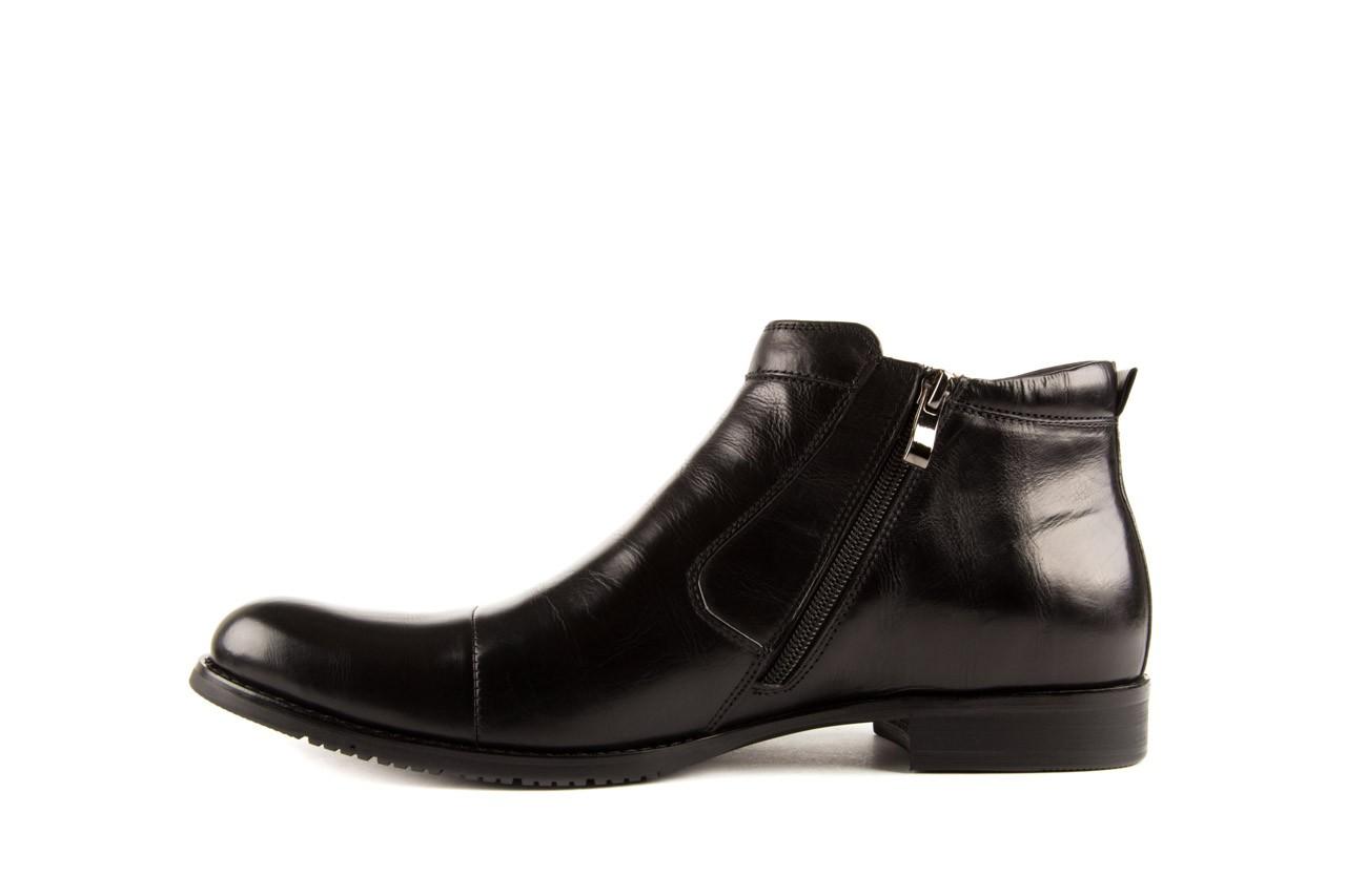 Trzewiki john doubare y1051-a25-5 black, czarny, skóra naturalna - brooman - nasze marki 8